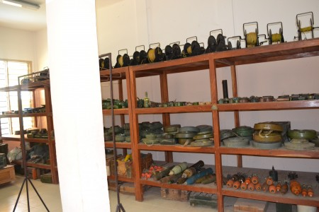 salle stockage munitions