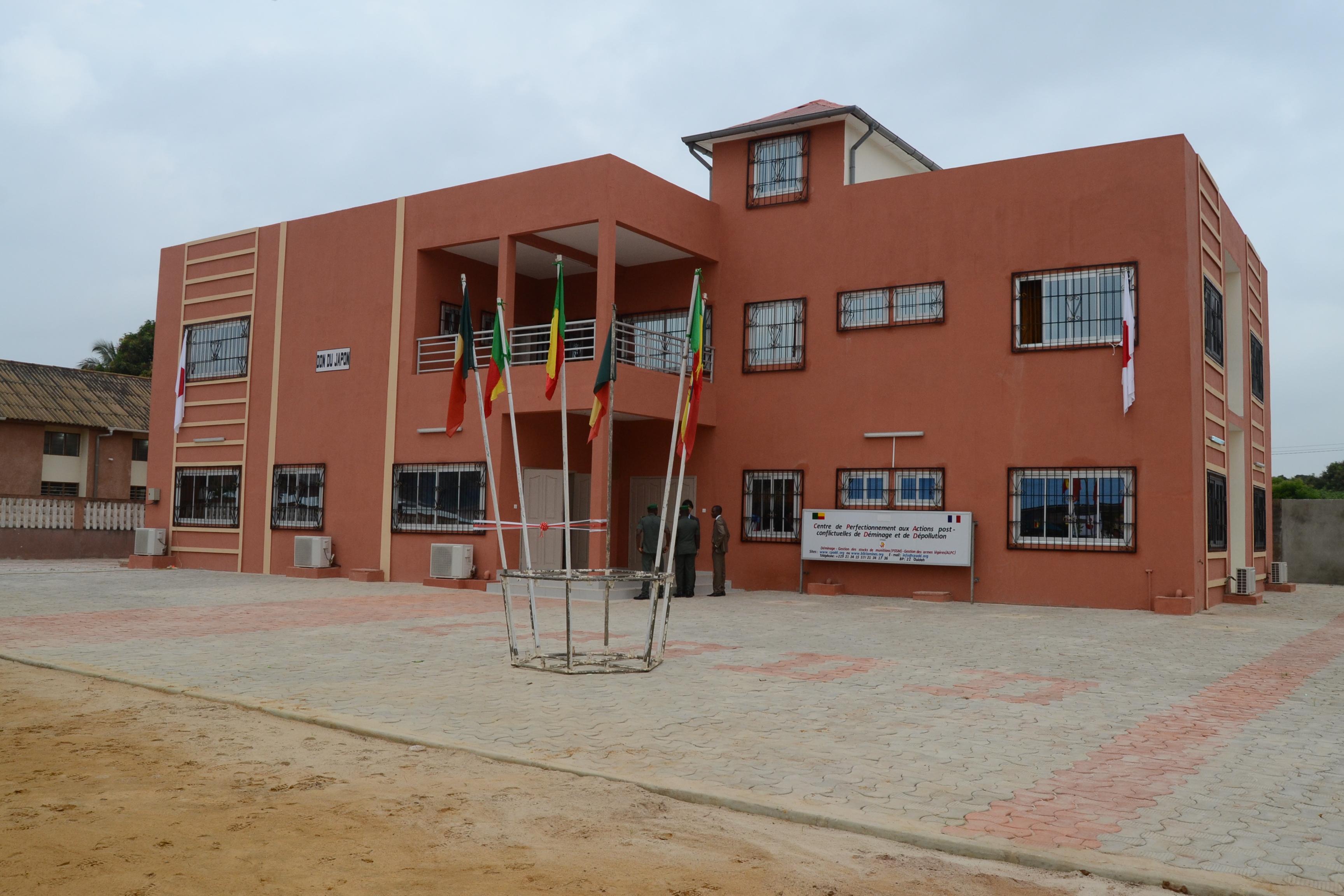 Inauguration du bâtiment de «Direction, Etudes et Administration du CPADD»