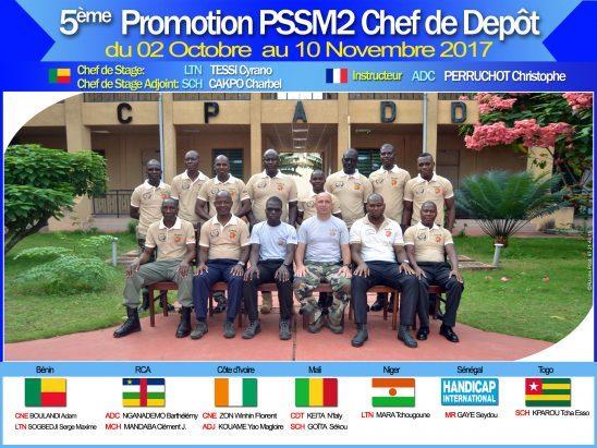 la 5e promotion PSSM2 a bien travaillé
