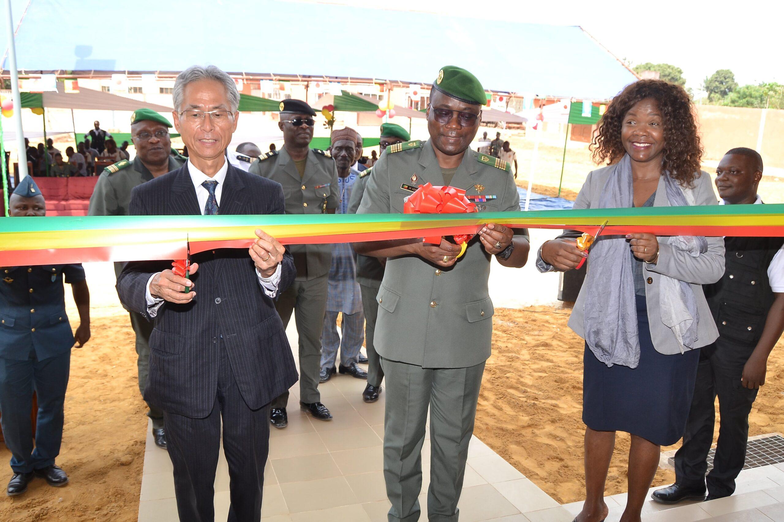 Inauguration d'un bâtiment de type R+1 au profit du CPADD