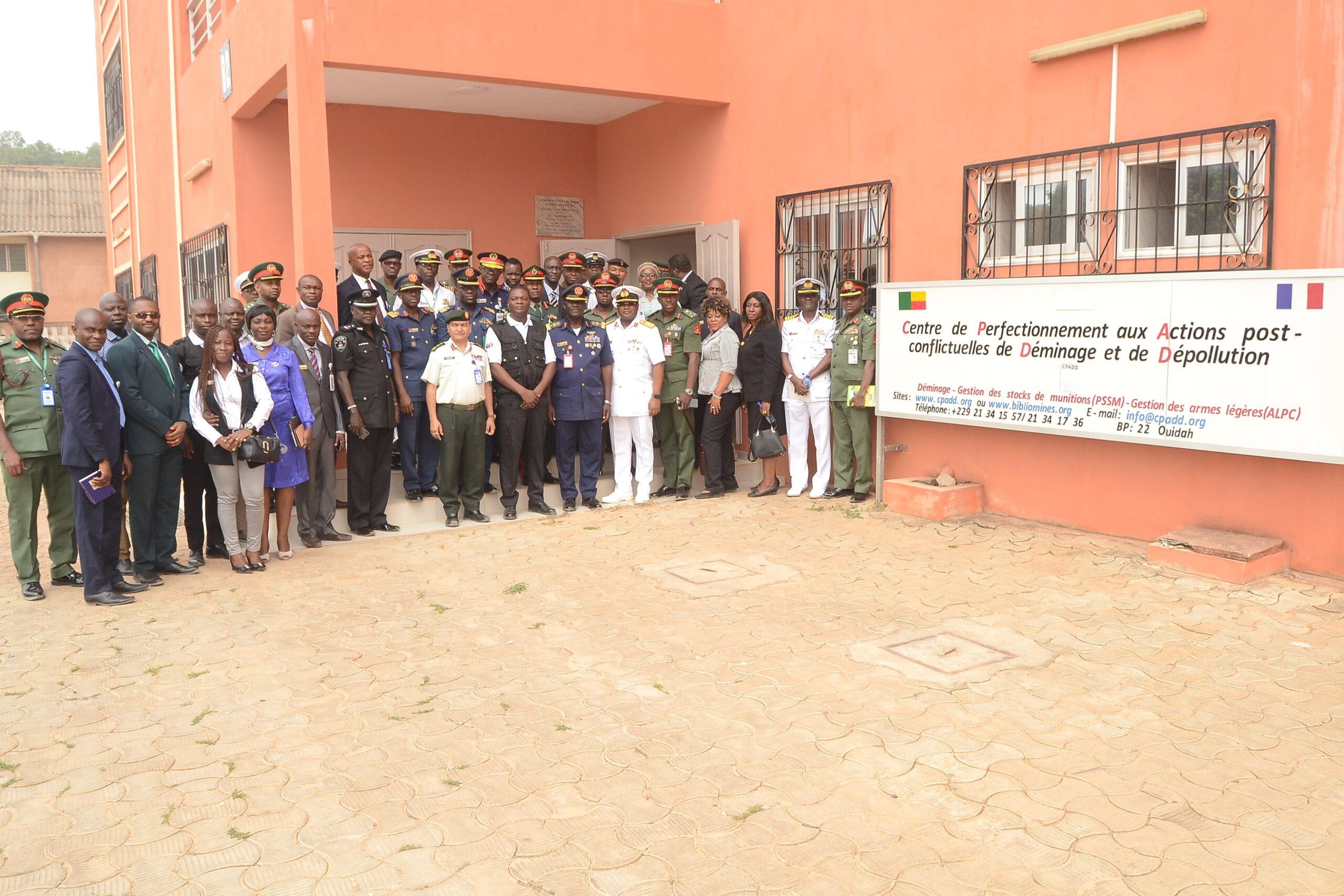 Visite d'une délégation des Forces Armées Nigérianes au CPADD