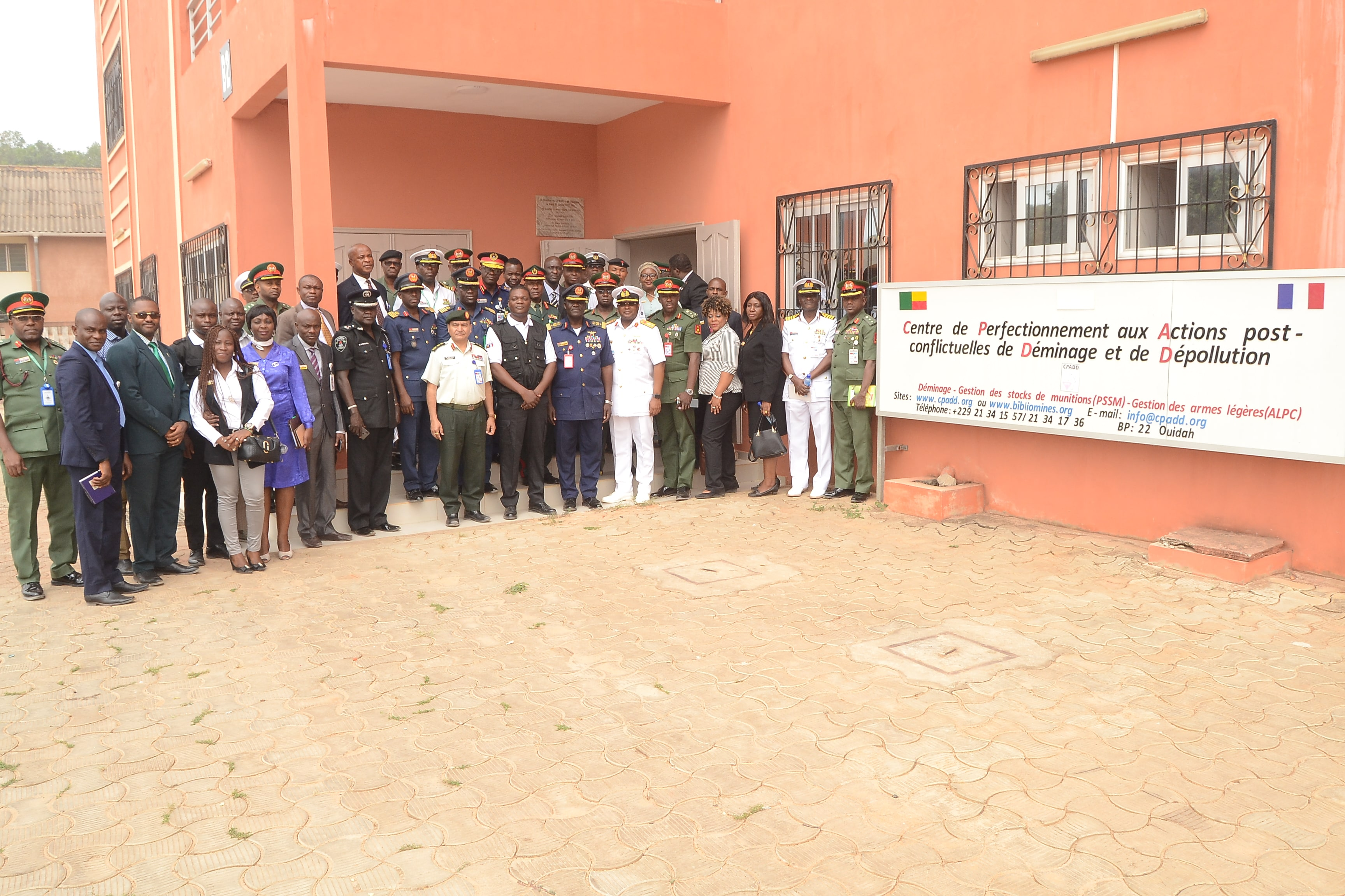 Visit of a Nigerian Armed Forces delegation