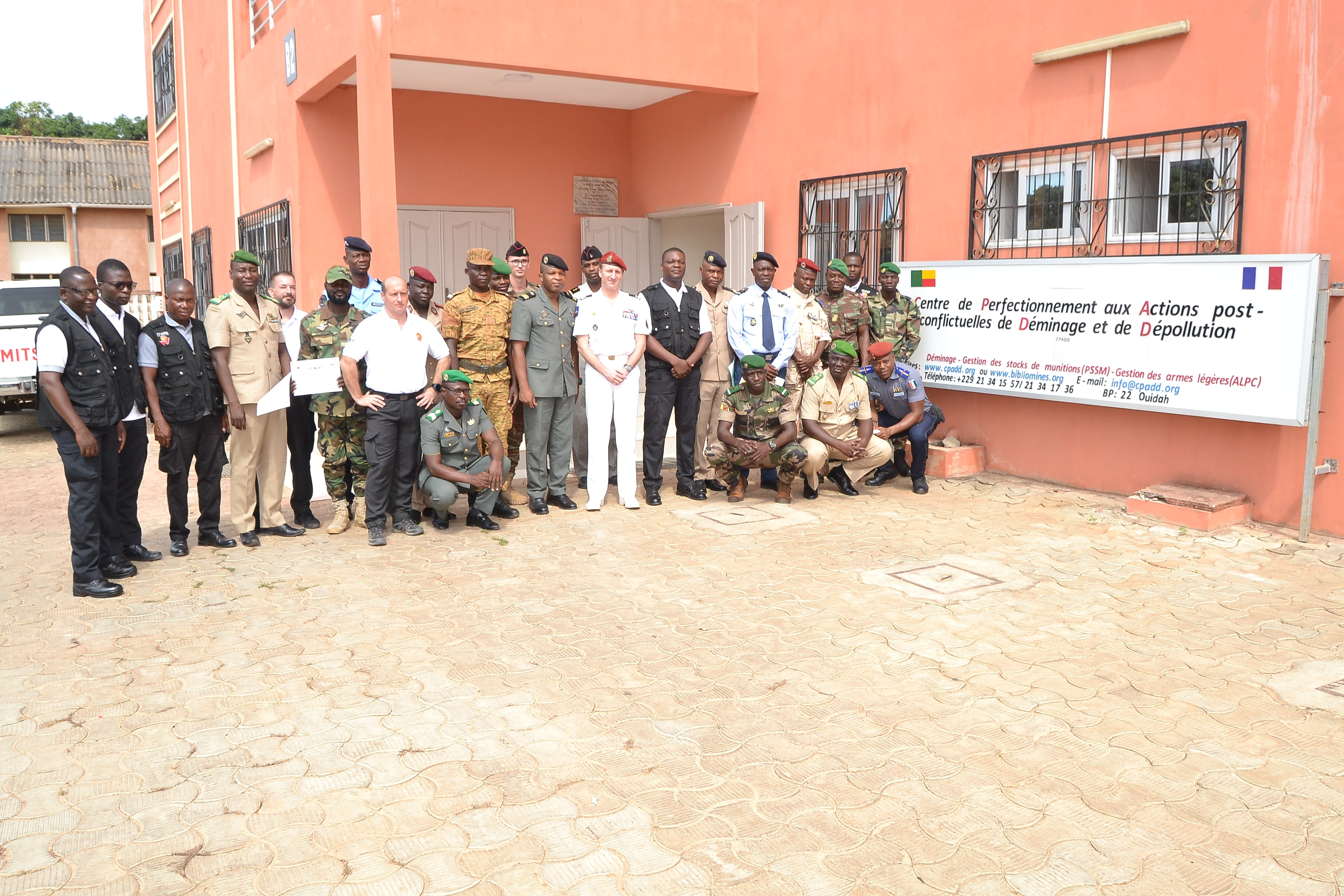 "Closing ceremony of the 2nd edition of the ""Intervention on Improvised Explosive Devices"" course"